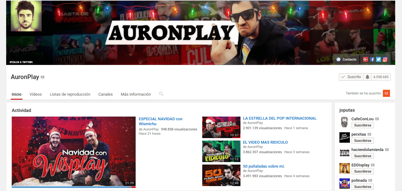 Youtuber Auroplay